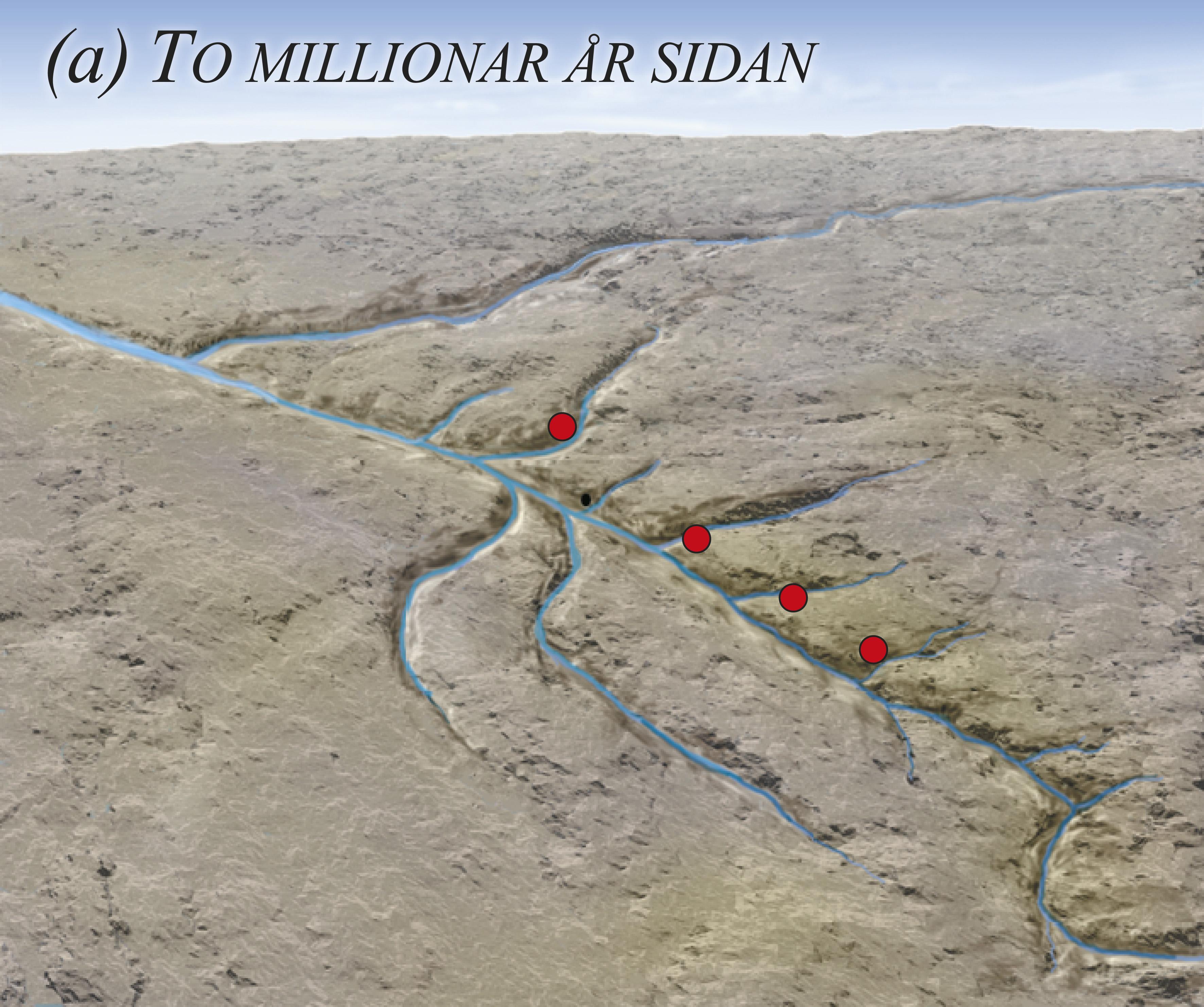 Før istidene var det dalar gravne ut av elvar der det no er fjordar