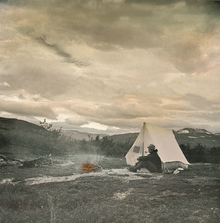 On a tent trip in Modalsfjella