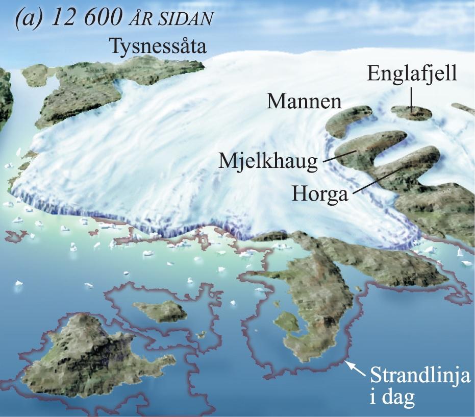 12 600 år sidan