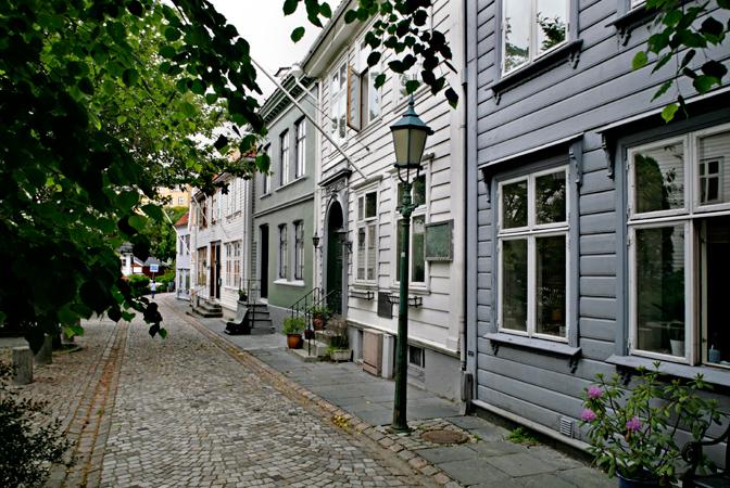 Trebyen, Kroken (Knut Strand)