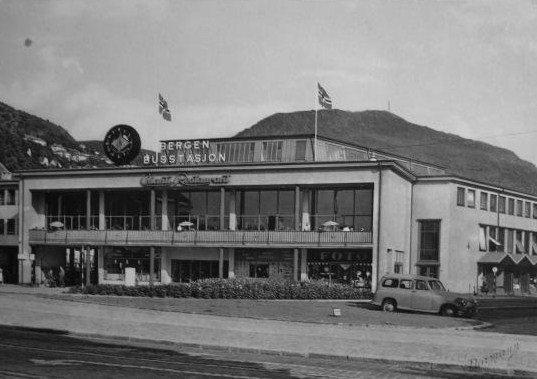 Bergen Busstasjon (Fotomuseum Bergen)