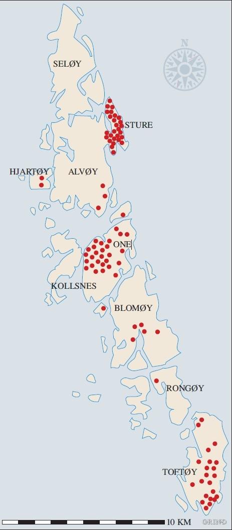 kart over sotra og øygarden Øygarden | Grind   Ei reise gjennom natur og kultur i Hordaland kart over sotra og øygarden