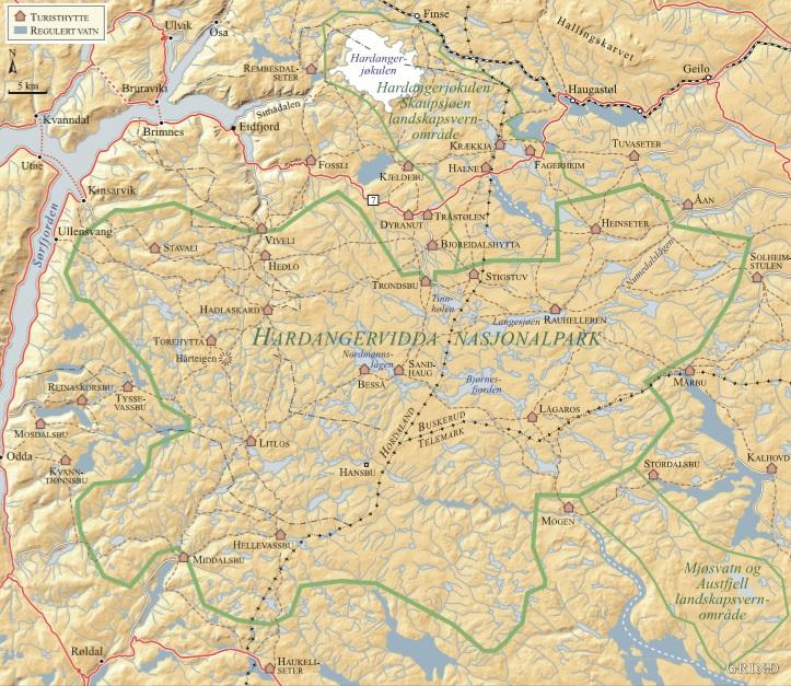 kart hardangervidda Hardangervidda Kart | Kart