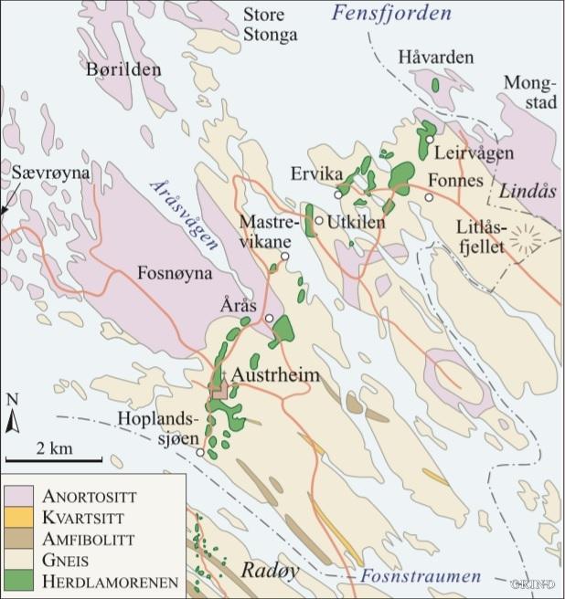kart over nordhordland Austrheim | Grind   Ei reise gjennom natur og kultur i Hordaland kart over nordhordland