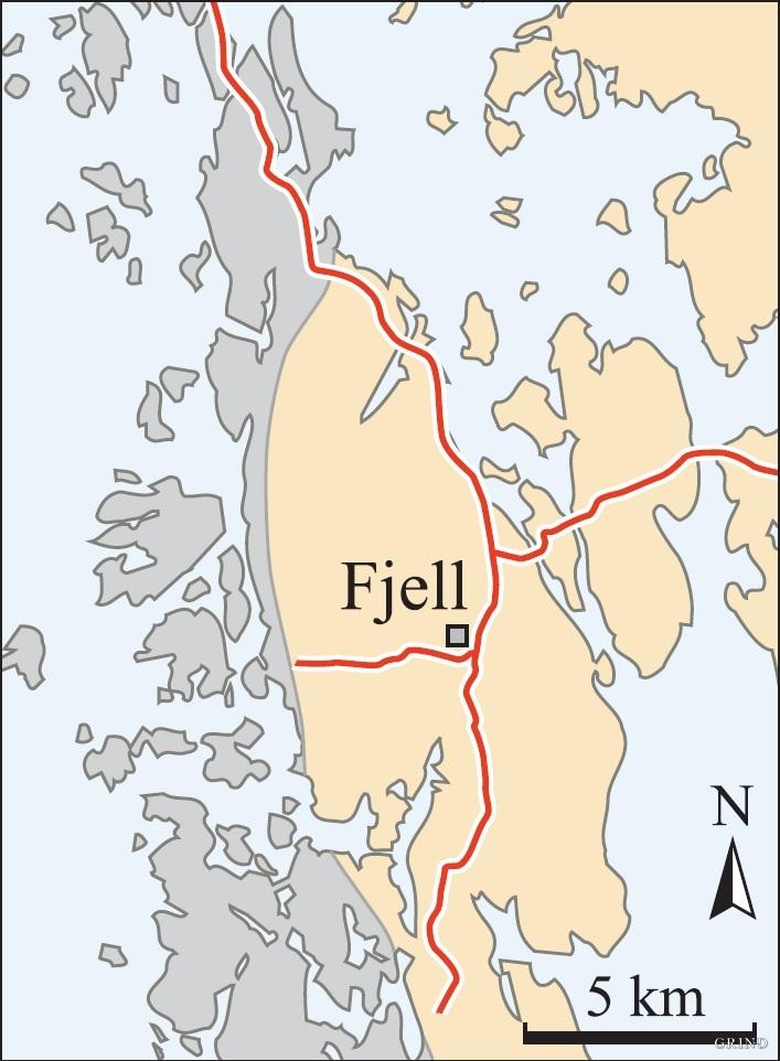 kart over fjell kommune Fjell   Grind   Ei reise gjennom natur og kultur i Hordaland kart over fjell kommune