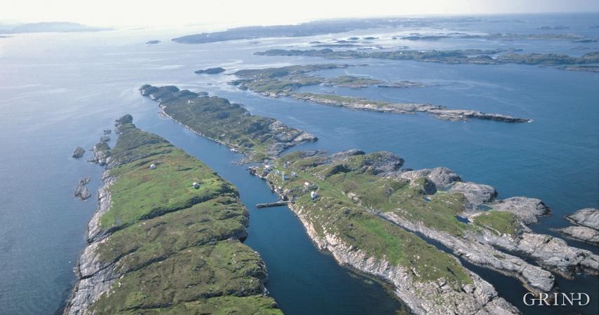 Frå Øygarden mot Hjeltefjorden