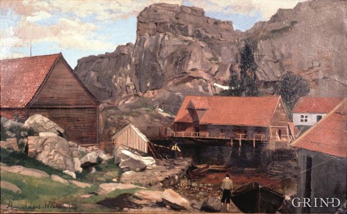 Solsvik, Amaldus Nielsen