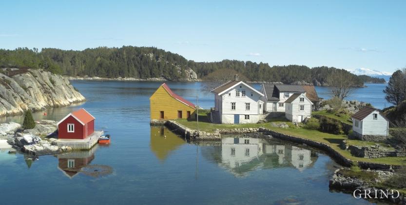 Krosshamn, Austevoll