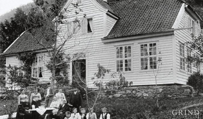 Engevik, Fusa i 1890-åra