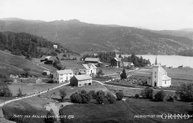 """""""Parti fra Aadland"""", 1908"""