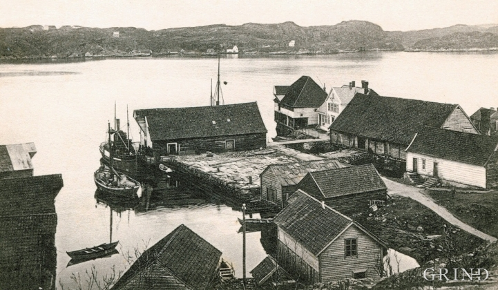 Glesvær at the turn of the century.