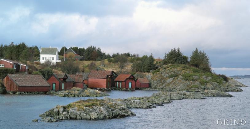 The marine use environment on Krossøy, Austrheim