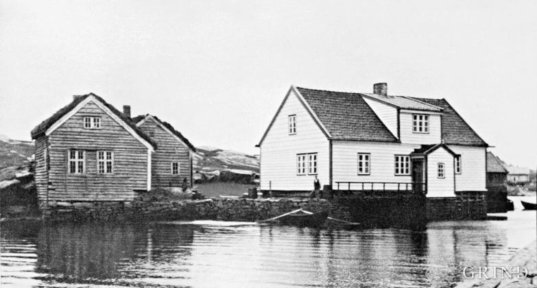 Kræmmerholmen tidleg på 1900-talet