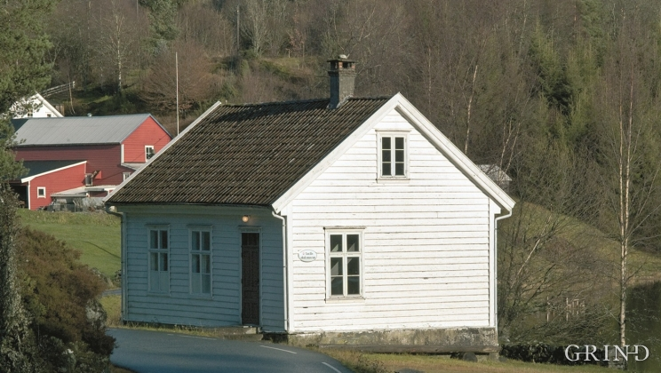 The schoolhouse at Vassel dating from 1886.