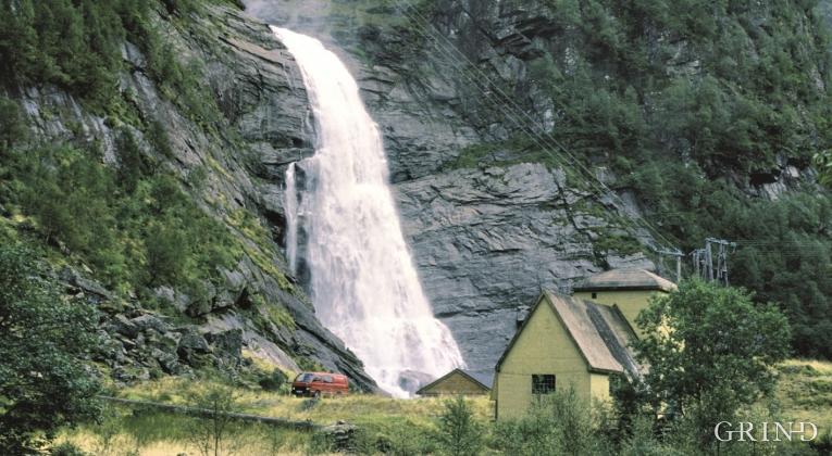 Hummelfossen kraftverk, Masfjorden