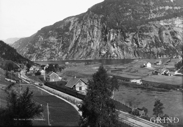 Bolstadøyri around the turn of the former century.