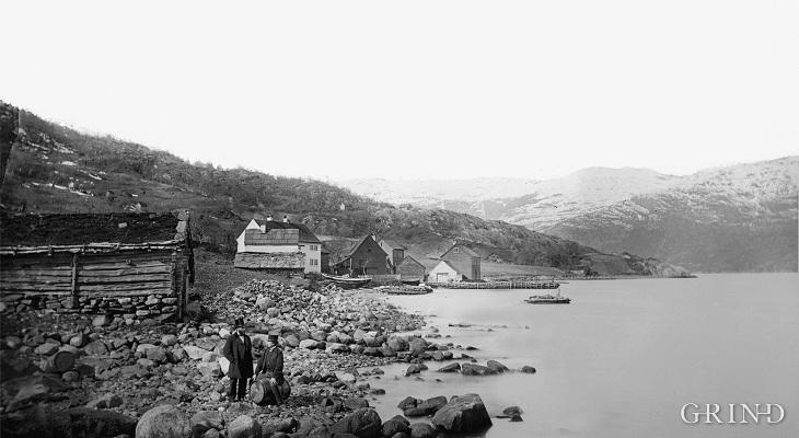 Gjestgjevarstaden på Utne kring 1900