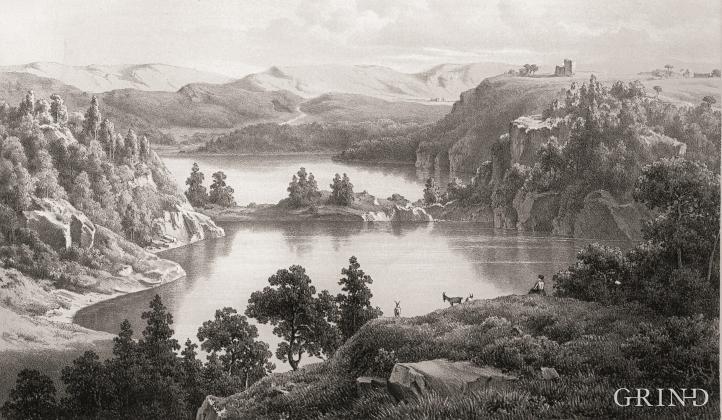 «Parti af Stømsnæs ved Bergen»