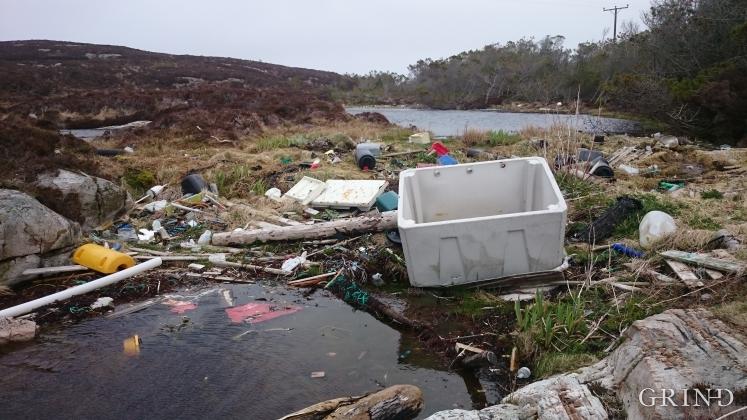 Plastforsøpling på Lisle Lyngøy