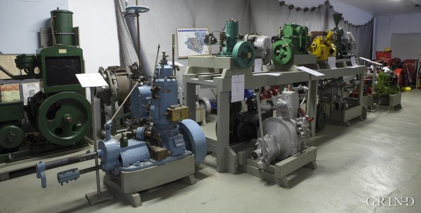 Boat engines, Norwegian Engine Museum in Skånevik