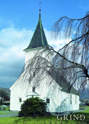 Gjerde church at Etne