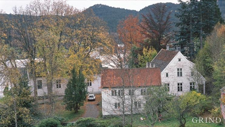 Prestegarden på Fjelberg