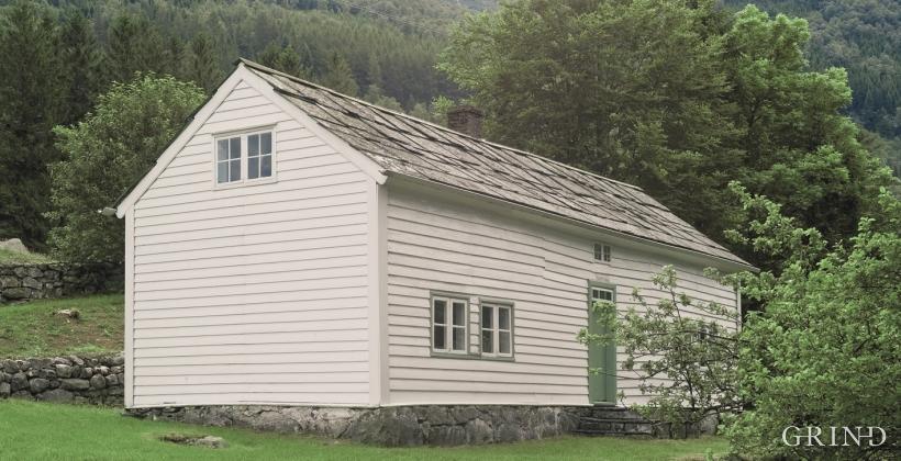 Haugahuset på Tveito i Kvinnherad