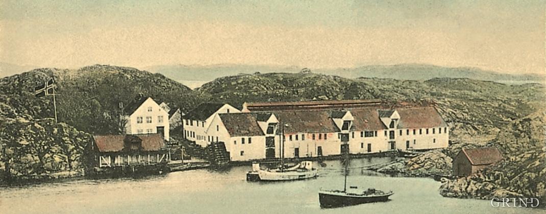 Hiskholmen around 1900