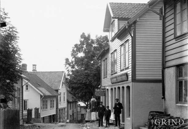 Leirvik (Stord), omlag 1910
