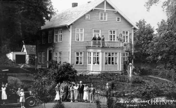 """Skrivargarden in """"""""Kåravikjo""""."""