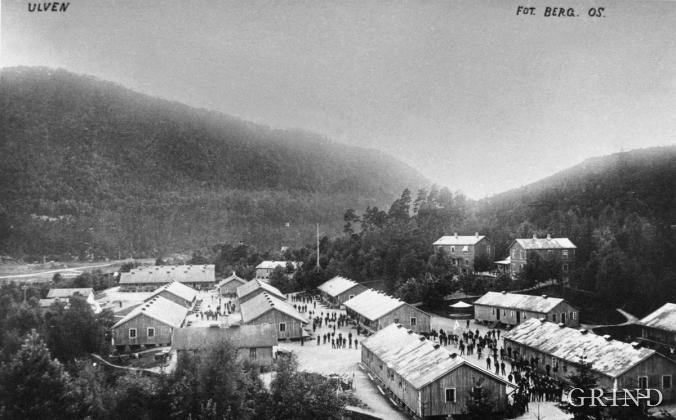 Ulven leir kring 1915
