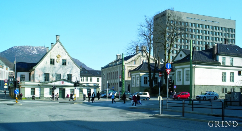 Det Gamle Rådhus (the old town hall), Bergen