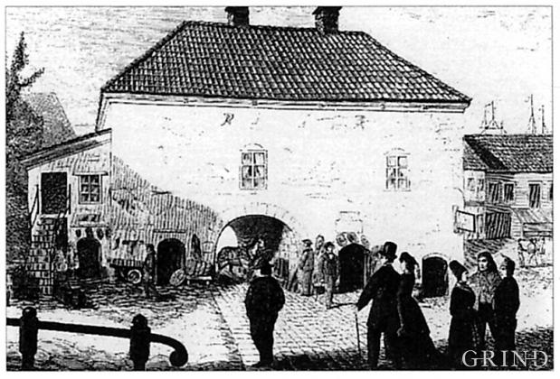 «Muren» fra 1561