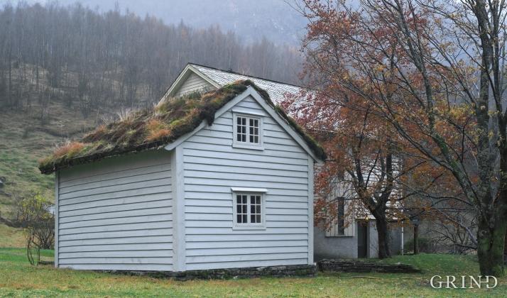 Bualoftet på Kjetland frå 1600 eller 1700-talet