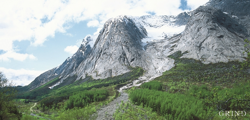 From Upper Musland toward Geitadalen.