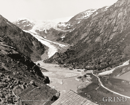 Buardalen and Buarbreen before 1880.