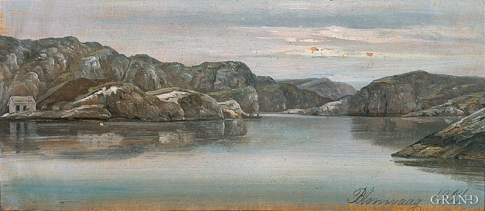 Blomvågen 1851