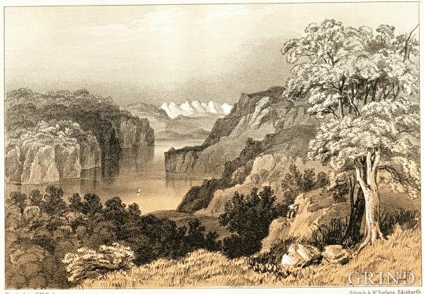 «Tysnes Fjord from Tysnes Oen»