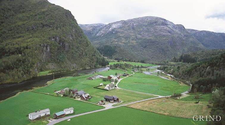 eksingedalen kart Eksingedalen   landskap | Grind   Ei reise gjennom natur og kultur  eksingedalen kart