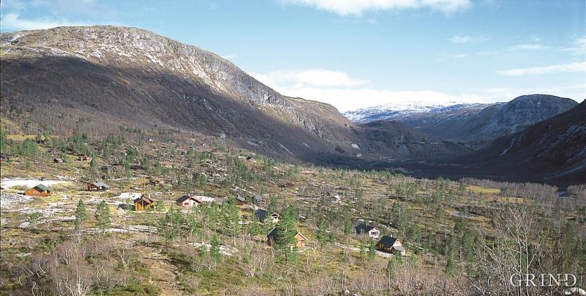 Slopes above the Kårdal boarding house