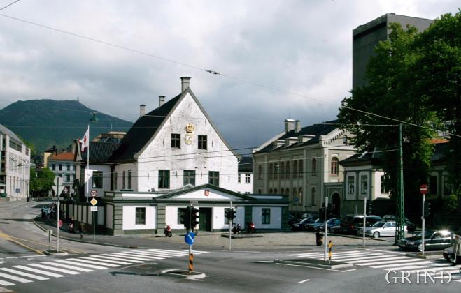 Det gamle rådhus i Bergen