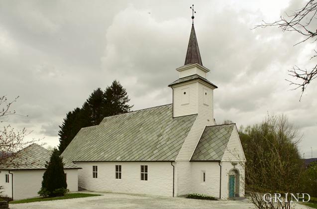 Åsane gamle kirke (Knut Strand)