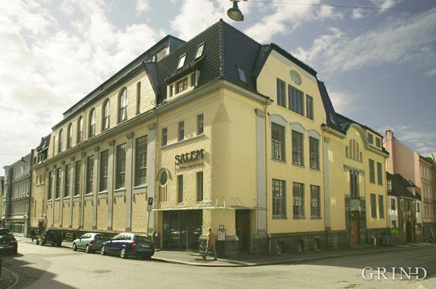 Turnhallen i Sigurdsgate  6 (Knut Strand)
