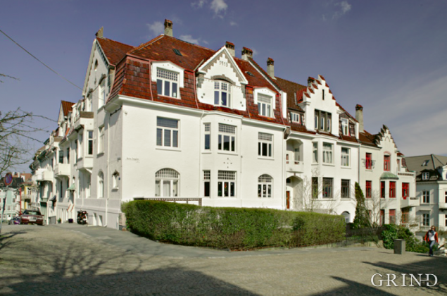 Boligkvartal Johanneskirketrappene (Knut Strand)