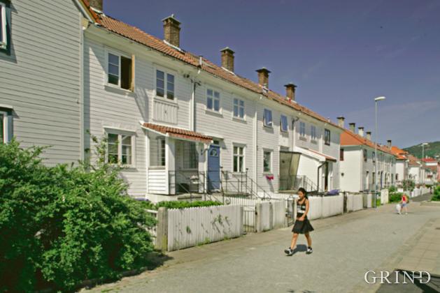 Selvbyggerkolonien på Nymark (Knut Strand)