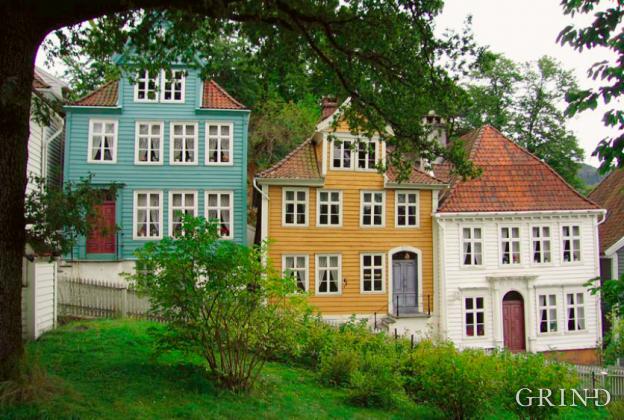 Gamle Bergen (Knut Strand)