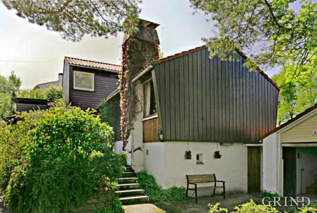Villa på Fantoft (Knut Strand)