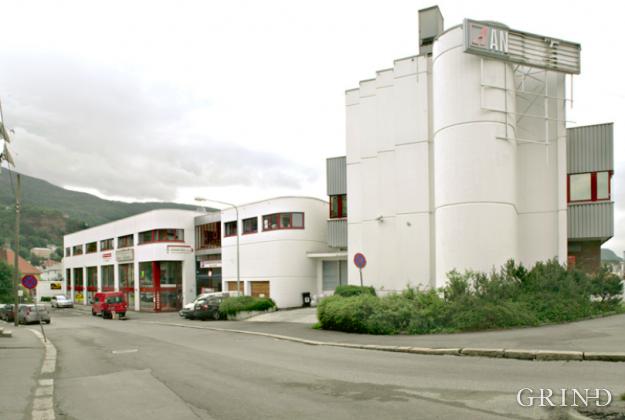 Kontor og lager for Andreas Olsen (Knut Strand)