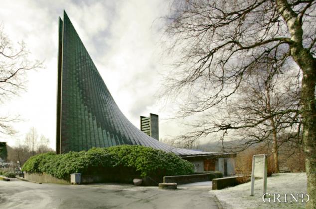 Slettebakken kirke (Knut Strand)