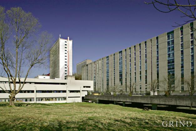 Fantoft Studentby (Knut Strand)